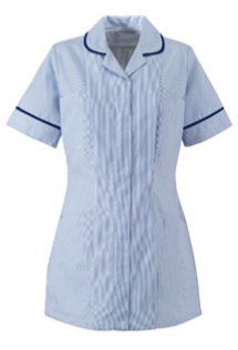Enrolled Nurse - Blue Piping