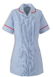 Staff Nurse - Red Piping