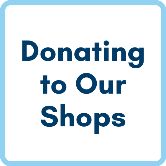 donating to our shops